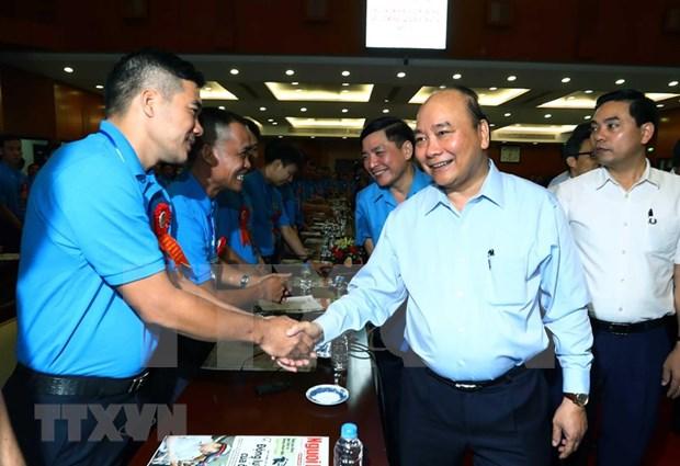 Premier vietnamita resalta el papel de trabajadores calificados hinh anh 1