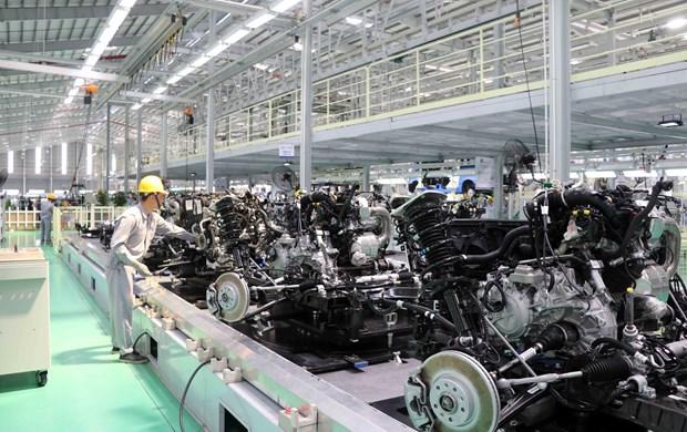 Empresa vietnamita Thaco inaugura planta de automoviles de alta gama hinh anh 1