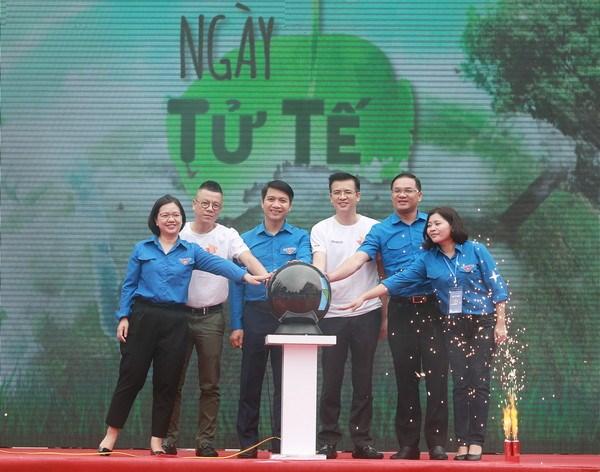 Promueven en Vietnam acciones por la limpieza del medio ambiente hinh anh 1