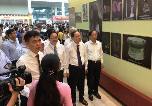 Exposicion en saludo a fundacion de provincia vietnamita de Thanh Hoa hinh anh 1