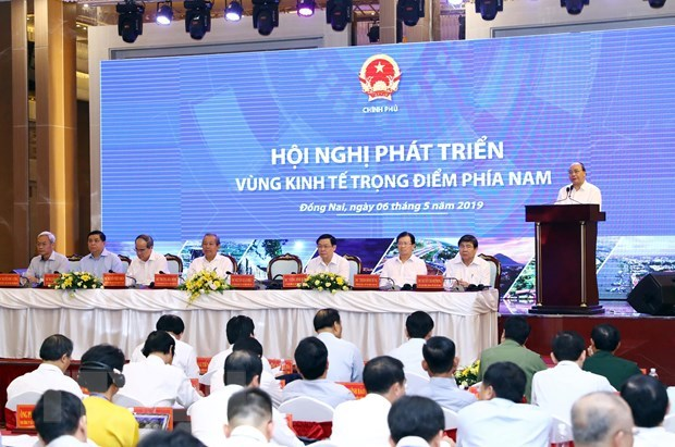 Preside premier vietnamita conferencia sobre desarrollo de la zona economica clave del Sur hinh anh 1