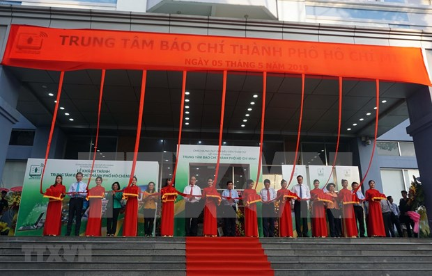 Inauguran en Vietnam Centro de Prensa de Ciudad Ho Chi Minh hinh anh 1