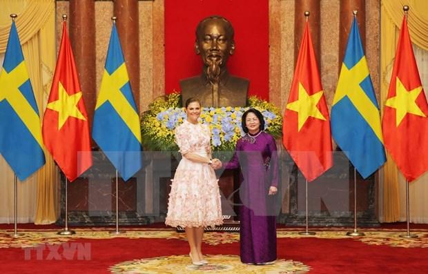 Abogan Vietnam y Suecia por incremento de nexos entre comunidades empresariales hinh anh 1