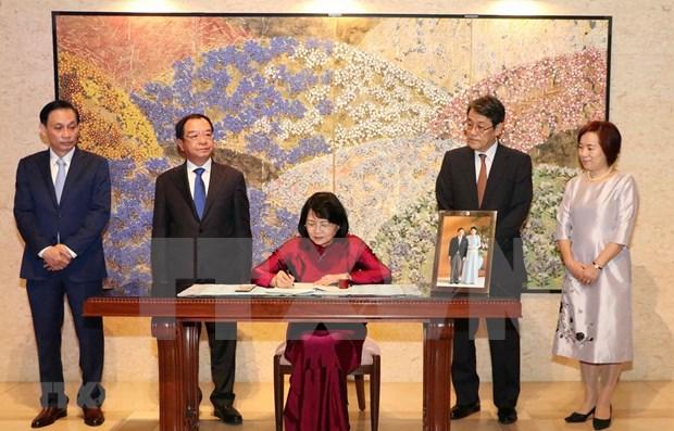 Felicita vicepresidenta de Vietnam al emperador japones Naruhito por su coronacion hinh anh 1