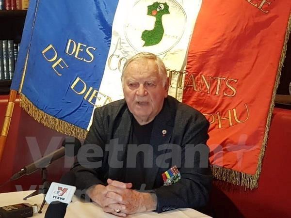 Destaca veterano frances valentia de militares vietnamitas en historica batalla de Dien Bien Phu hinh anh 1