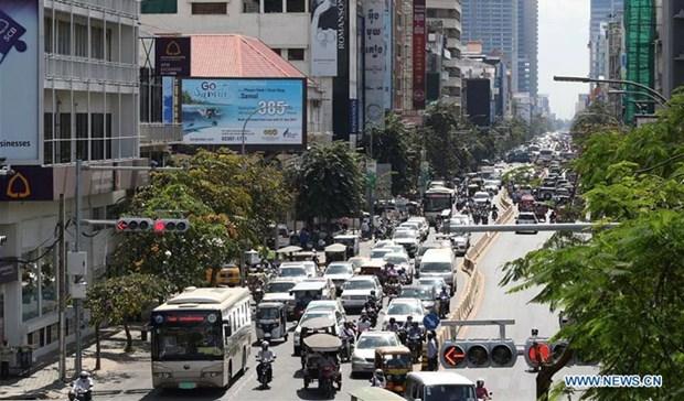 Crecio la economia camboyana 7,5 por ciento en 2018 hinh anh 1