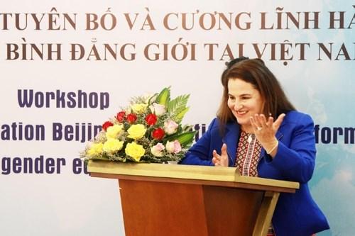 Reconoce la ONU mejoramiento en la posicion de las mujeres en Vietnam hinh anh 1