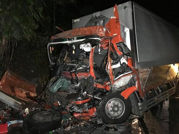 Reportan tres muertos y 73 lesionados tras accidente de trafico en Filipinas hinh anh 1