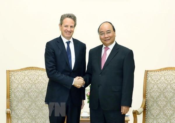 Destaca premier vietnamita relaciones economicas con EE.UU. hinh anh 1
