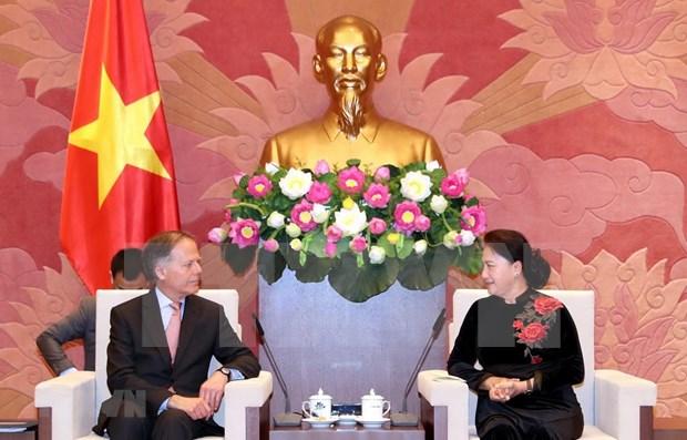Destacan Vietnam e Italia potencialidades de cooperacion economica hinh anh 1