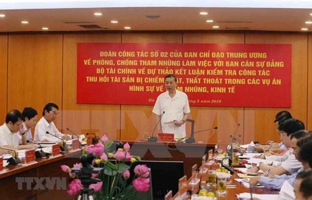 Reconocen en Vietnam esfuerzos en la lucha contra la corrupcion hinh anh 1