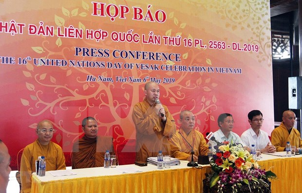 Participaran al menos mil 650 delegados en Dia de Vesak en Vietnam hinh anh 1