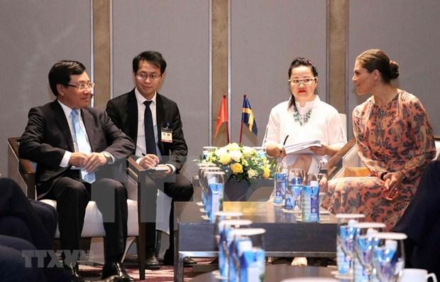 Promueven colaboracion entre empresas de Vietnam y Suecia hinh anh 1