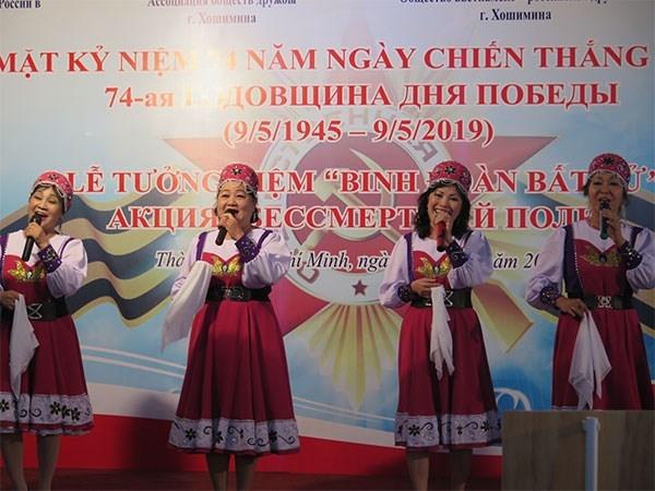 Conmemoran en Ciudad Ho Chi Minh Dia de la Victoria contra el Fascismo hinh anh 1
