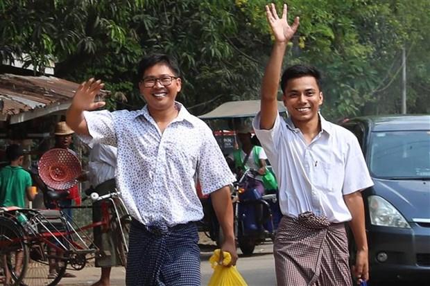 Anuncia Myanmar amnistia para miles de prisioneros por fiesta de ano nuevo hinh anh 1