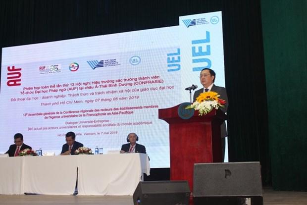 Debaten sobre desafios de la ensenanza universitaria en la XIII conferencia de Asia-Pacifico hinh anh 1