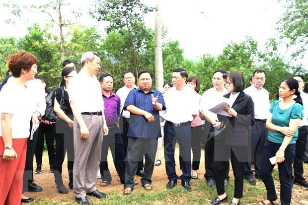 Provincias vietnamita y china promueven comercio fronterizo hinh anh 1
