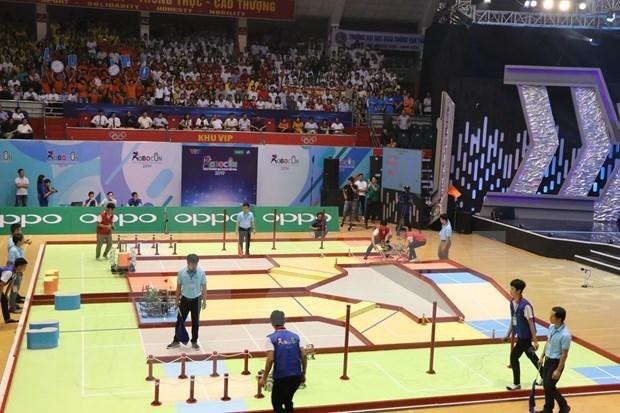 Inician en Vietnam ronda final de Concurso Nacional de Robotica hinh anh 1