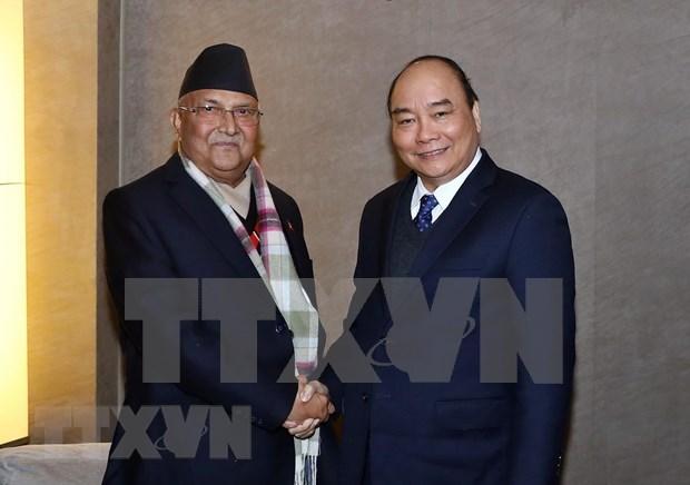Iniciara premier nepales visita oficial a Vietnam hinh anh 1