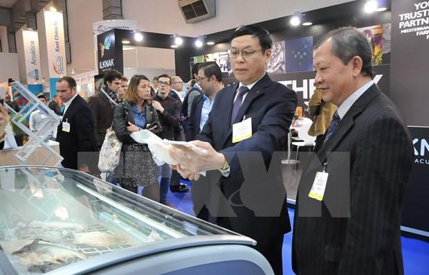 Productos acuicolas de Vietnam buscan posicionarse en el mercado europeo hinh anh 1