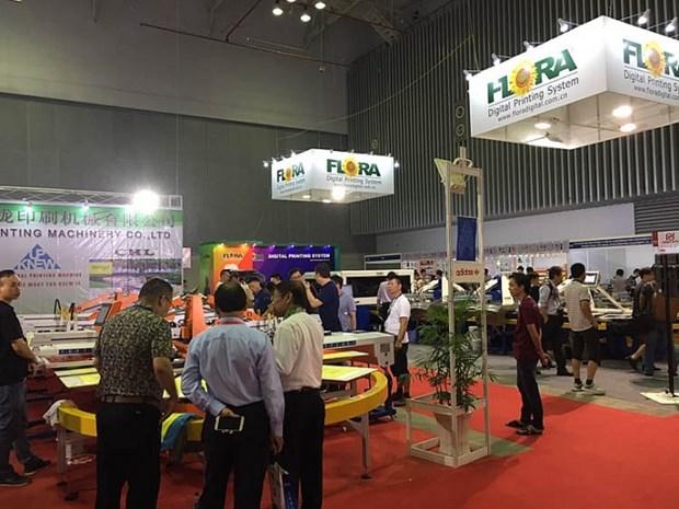 Inauguran en Vietnam exposicion internacional de serigrafia y tecnologias de impresion digital hinh anh 1