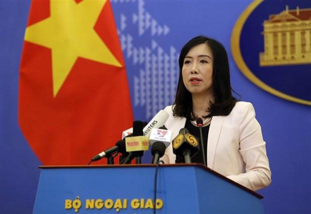 Llama Vietnam a todas las naciones a cumplir leyes internacionales en los mares y oceanos hinh anh 1