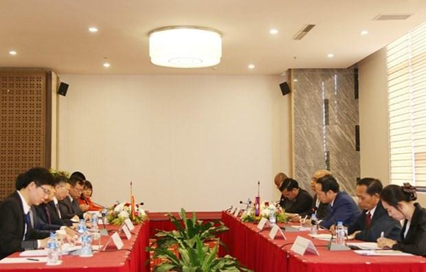 Intercambian Vietnam y Laos experiencias partidistas en propaganda hinh anh 1