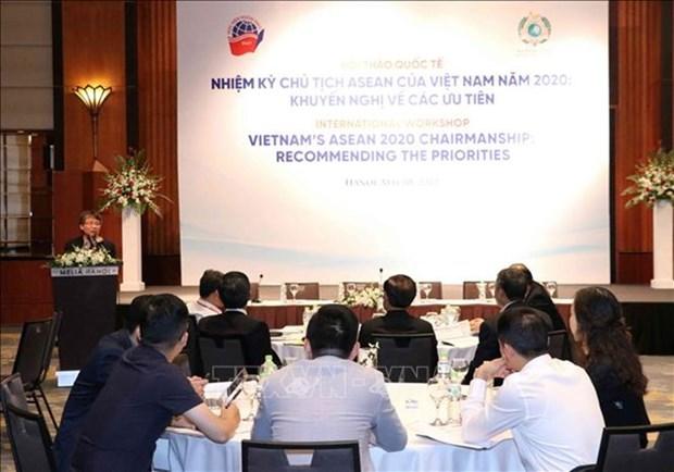 Vietnam traza sus tareas prioritarias cuando asuma la presidencia de la ASEAN en 2020 hinh anh 1