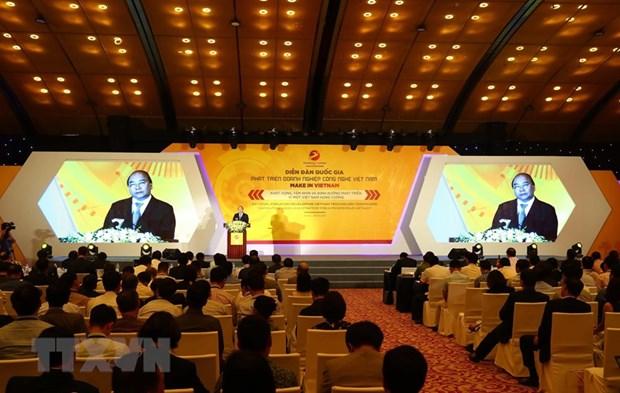 Celebran primer Foro nacional del desarrollo de empresas tecnologicas en Vietnam hinh anh 1