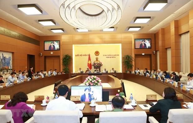Parlamento de Vietnam aborda informe de recomendaciones de votantes hinh anh 1