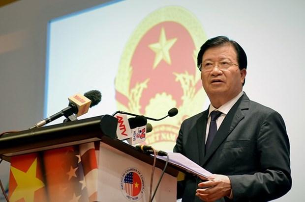 Impulsan Vietnam y EE.UU. cooperacion en comercio e inversion hinh anh 1