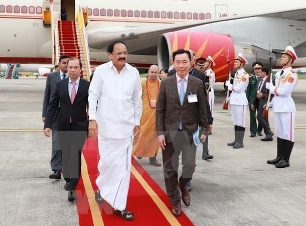 India profundizara las relaciones con Vietnam, afirma vicepresidente Venkaiah Naidu hinh anh 1