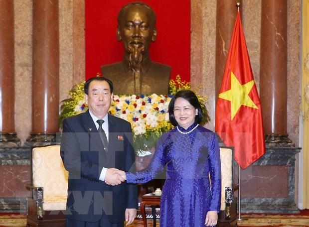 Llama vicepresidenta de Vietnam a fortalecer nexos judiciales con Corea del Norte hinh anh 1