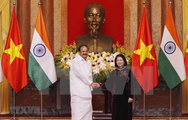 Proyectan Vietnam y la India elevar intercambio comercial a 15 mil millones de dolares hinh anh 1