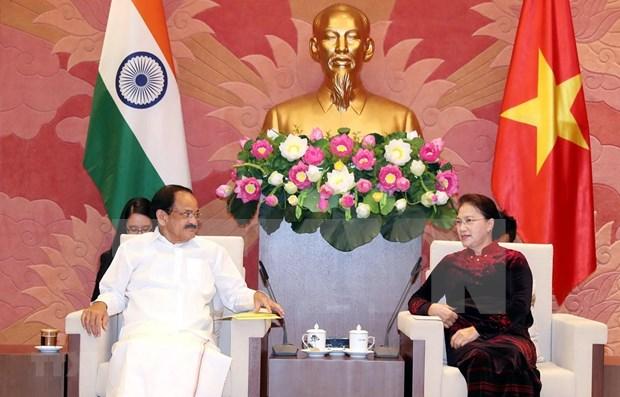 Resaltan fortalecimiento de nexos parlamentarios entre Vietnam y la India hinh anh 1