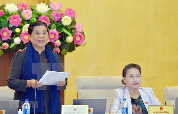 Concluye reunion 34 del Comite Permanente del Parlamento de Vietnam hinh anh 1
