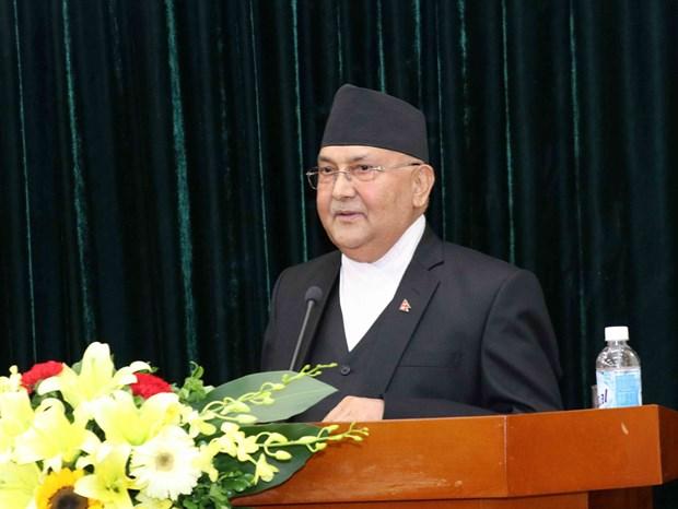 Destaca premier de Nepal la simpatia de su pueblo hacia el Presidente Ho Chi Minh hinh anh 1
