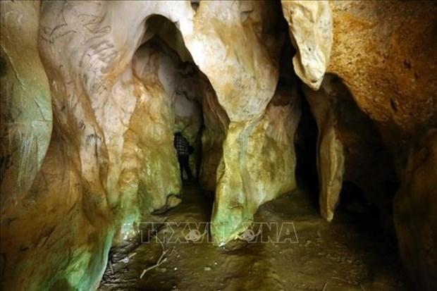 Abren a visitantes en Vietnam cueva con nombre del general Vo Nguyen Giap hinh anh 1