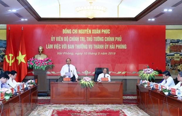 Premier vietnamita insta a Hai Phong a invertir mas en economia digital hinh anh 1