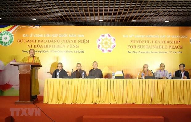 Analizan en Vietnam desarrollo del budismo en la cuarta revolucion industrial hinh anh 1