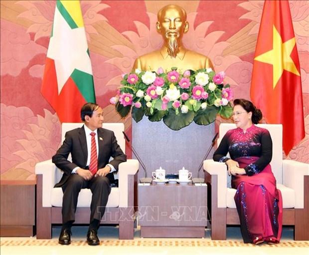 Vietnam y Myanmar robustecen relaciones hinh anh 1