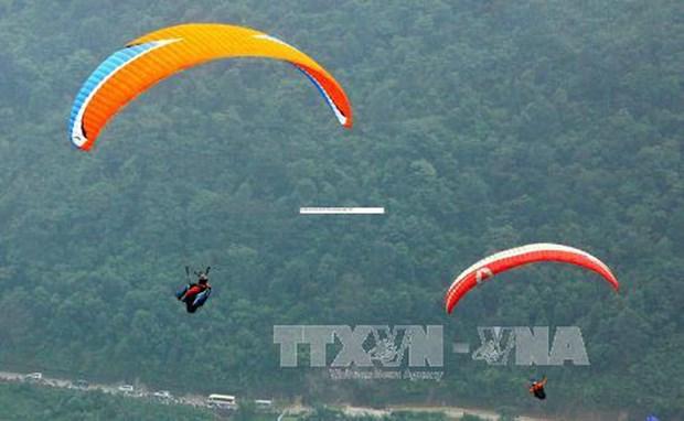Organizaran el Torneo de Parapente Vietnam en la provincia de Quang Ngai hinh anh 1