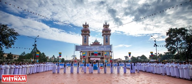Las comunidades religiosas acompanan a la nacion hinh anh 1