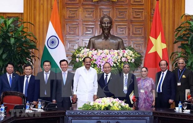 Vietnam e India acuerdan ampliar cooperacion en multiples sectores hinh anh 1