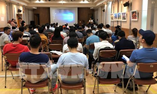Efectuan encuentro de asesoramiento legal para trabajadores vietnamitas en Corea del Sur hinh anh 1
