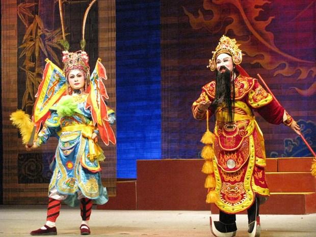 Thanh Hoa conserva y desarrolla el Tuong (Opera clasica) y los generos dramaticos folcloricos hinh anh 1
