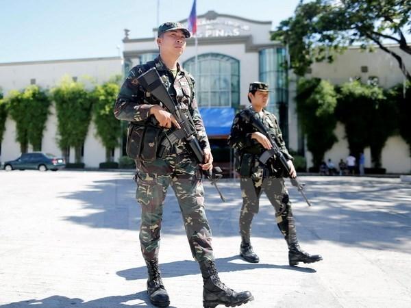 Sacuden explosiones localidades de Filipinas antes de elecciones parciales hinh anh 1