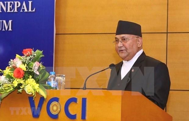 Concluyo premier de Nepal su visita oficial a Vietnam hinh anh 1