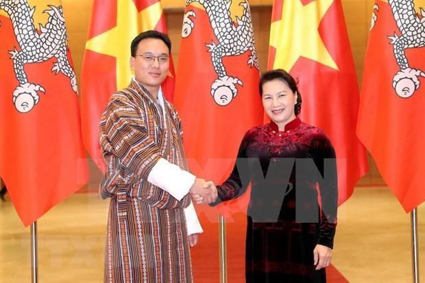 Fortalecen Vietnam y Butan nexos parlamentarios hinh anh 1