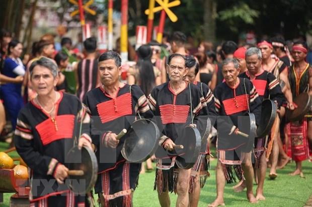 Preservan y promueven valores culturales de las etnias en Vietnam hinh anh 1